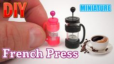 DIY Miniature French Press Coffee Maker