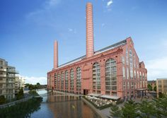 Terry Farrell's Lots Road power station scheme