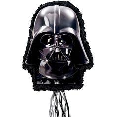 Check out Birthday Party Darth Vader Pinata - BirthdayInaBox.com from Birthday In A Box