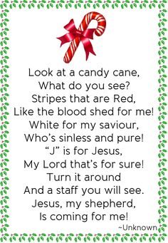 Cute for VBS or and Sunday school class Christmas Poems, Christmas Program, Christmas Makes, Christmas Goodies, Christmas Holidays, Christmas Decor, Christmas Candy, Holiday Fun, Christmas Gifts