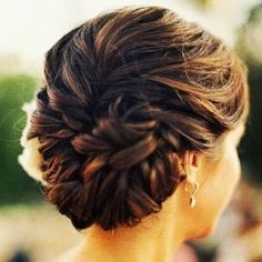 Updos are perfect when you want the focus to be on your makeup or dress! #prom