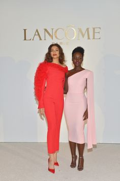 Zendaya Celebrates Role as New Lancome Ambassadress with Lupita Nyong'o: Photo Zendaya attends an event to announce her new role as the face of Lancome on Thursday afternoon (February at the Four Seasons Hotel in Beverly Hills, Calif. Zendaya Coleman, Black Celebrities, Celebs, Zendaya Outfits, Lupita Nyongo, Hollywood, Global Brands, Bridesmaid Dresses, Wedding Dresses