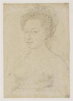 Portrait de Diane de Poitiers ... François Clouet.