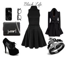 """""""Black Life."""" by joanne-jkmn on Polyvore featuring Tod's"""