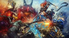 In the Heroes of the Storm Ultimate Fan Art Contest, we challenged you to illustrate heroes from across the Blizzard universes engaged in battle. Artists heeded our call and picked up their pens, b...