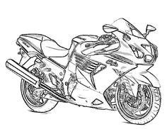 free printable motorcycle coloring pages for kids httpdesignkidsinfo - Race Car Coloring Pages Printable