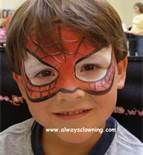 Superhero Face Painting Ideas
