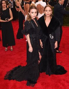 2015 Met Gala: Red Carpet Arrivals - Mary-Kate and Ashley Olsen from #InStyle