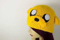 Crochet Jake The Dog Hat by Ashler-Sauce
