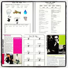 "Great spanish song to use in classroom! Marc Anthony. ""Vivir Mi Vida"" activities and articles!"