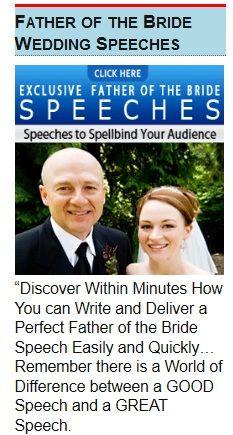 100percentbestchoice Father Bride Speech