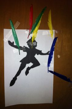Pin the feather on Peter Pan's Shadow