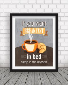 Kitchen decorkitchen printkitchen wall artkitchen by BlackPelican