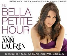 Are you ready to listen in on the Belle Petite Hour this morning at 10am pacific time? Featuring special guests Celebrity Fashion Stylist George Brescia, along with Fitness and Lifestyle expert Ana Caban.