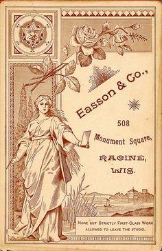 Cabinet Card Back, Easson  Co. by depthandtime, via Flickr
