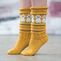 Påskesokken - www. Wool Socks, Knitting Socks, Hand Knitting, Knitted Hats, Animal Print Socks, Sock Toys, Drops Design, Hand Warmers, Knitting Patterns