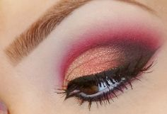 Did something similar but more subtle lately, loved it. Good contrast w my blue eyes.