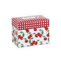 Kitchen Cherry Recipe File Box – Jessie Steele