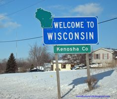 Welcome to Wisconsin! At Kenosha.