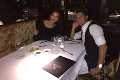 If you score 13 goals in six games, I guess you have earned a nice meal out.    Cristiano Ronaldo  celebrated yet another La Liga hat-trick by enjoying a night on the town with his model girlfriend, Irina  Shayk ...