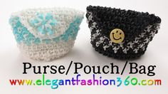 Rainbow Loom Purse/Pouch/Bags - How to Loom Bands tutorial by Elegant Fashion Rainbow Loom Purse, Rainbow Loom Bands, Rainbow Loom Charms, Rainbow Loom Bracelets, Rainbow Loom Tutorials, Rainbow Loom Patterns, Rainbow Loom Creations, Loom Bands Instructions, Loom Bands Tutorial