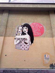 Queer Graffiti #Lesbian #StreetArt
