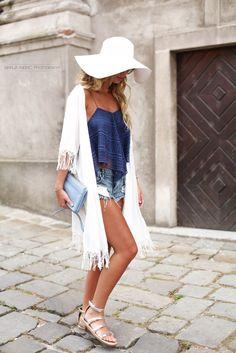 Zorannah's Fashion Corner: White Hat