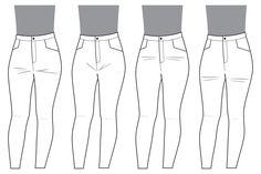 ajustements du devant de pantalon  - Deer & Doe