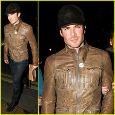 Ian Somerhalder steps out after having dinner with his dad on Wednesday evening (May 22) in Soho district of London, England. http://sulia.com/channel/vampire-diaries/f/7799b494897b660ca8789e0e93822be5/?