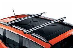 2015 Jeep Renegade THULE REMOVABLE ROOF RACK CROSS RAILS OEM NEW MOPAR  #MoparThule
