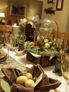 Easter Cross Tablescape by dining delight, via Flickr