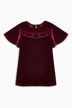 Купить Велюровое платье (3 мес.-6 лет) - Покупайте прямо сейчас на сайте Next…