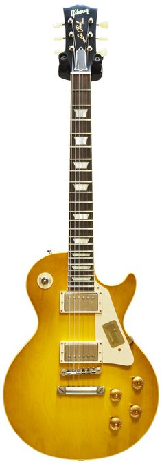 Gibson 1958 Les Paul Plaintop Lemonburst VOS #841913 Main Product Image