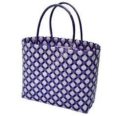 Vietnam handmade plastic bag / Woven basket / HAPRO (N 3789)
