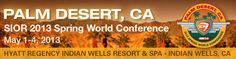 The SIOR Spring World Conference may be a few months away...but your chance to win a free hotel stay is almost up! Register here and be entered to win: http://sior.com/events/sior-world-conferences/2013-spring-world-conference/conference-registration
