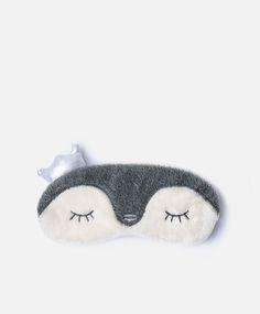 Antifaz pingüino corona - Novedades - Tendencias AW 2016 en moda de mujer en Oysho online: ropa interior, lencería, ropa deportiva, pijamas, moda baño, bikinis, bodies, camisones, complementos, zapatos y accesorios.