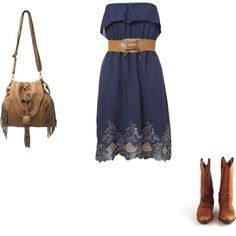 """""""navy and brown"""" on Polyvore"""