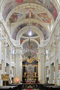 Church of the Missionaries, Krakow, Poland