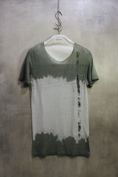 amy glenn, A147G t-shirts. Each shirt is unique, created and designed by hand, one at a time, using a monochromatic palette.
