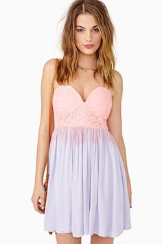 Candy Drop Lace Dress #NastyGal