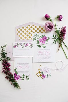 purple stationery | utah bride