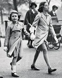 dailymail:  Princess (now Queen) Elizabeth with friend Sonia Berry, a little girl she met in 1930 out playing behind the London home of her parents.  Sonia's father was a doctor who would treat Elizabeth's grandfather King George V.  The friendship continued over 80 years until Sonia's death in 2012.