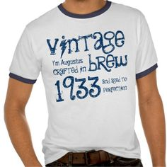 >>>best recommended          80th Birthday Gift 1933 Vintage Brew Name V2 T-shirt           80th Birthday Gift 1933 Vintage Brew Name V2 T-shirt in each seller & make purchase online for cheap. Choose the best price and best promotion as you thing Secure Checkout you can trust Buy bestDiscount...Cleck Hot Deals >>> http://www.zazzle.com/80th_birthday_gift_1933_vintage_brew_name_v2_tshirt-235851438503842173?rf=238627982471231924&zbar=1&tc=terrest