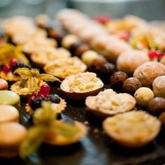 Mmmm... sweet treats from our lunch buffet!