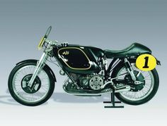 Beautiful AJS Motorcycle...ok so I'm a Harley guy at heart, but this is still cool.
