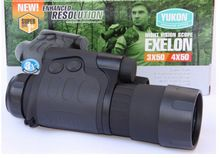 the best Free shipping Wholesale Yukon 24101  Exelon  3 x 50 1 infrared monocular night vision