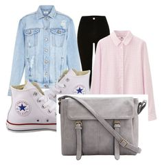 """Downtown Chill Day"" by swag-is-love-swag-is-life on Polyvore featuring Converse and Uniqlo"