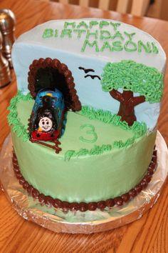 Thomas the Train Cake | Pixie Cakes