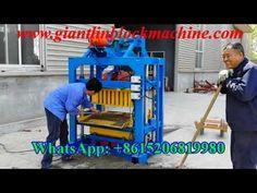 maquina de hacer bloques de cemento concreto manual para adoquines, ladrillos