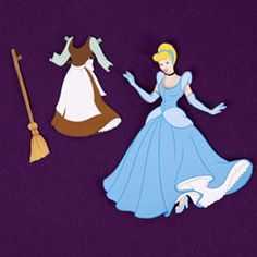 Cinderella Dress-Up Doll | Printables | Disney Family.comDisney paper doll printables